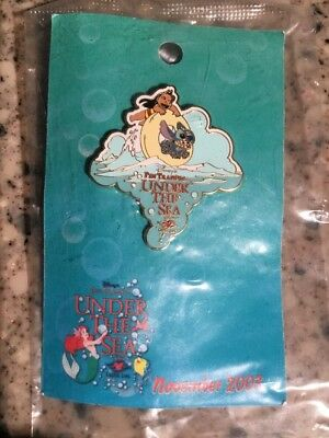 DCL Pin Trading Under the Sea Thank You Gift Lilo & Stitch LE 550 Disney Pin