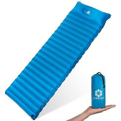 LivBright Lightweight Sleeping Pad for Ultralight Camping, Backpacking, Hiking
