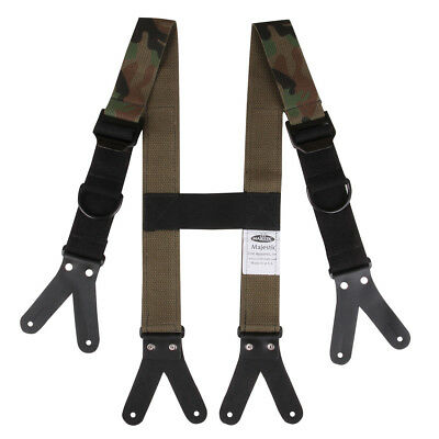 Firefighter Suspenders Majestic USA Made 5 styles available