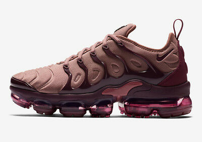 ec185217330f3 Nike WMNS Air Vapormax Plus size 8.5. Smokey Muave Bordeaux Burgundy  AO4550-200