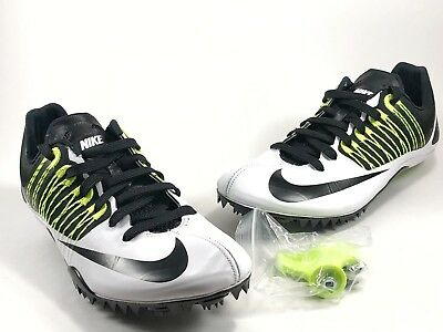 best sneakers d4f1b f66ff Nike Zoom Celar 5 Sprint Track Spikes White   Black Size  Mens 10