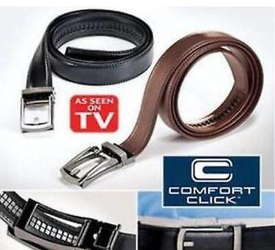 "2017 Comfort Click Belt for Men Automatic Lock Belts 28""-48"" As Seen on TV"