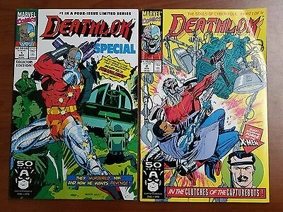 Deathlok #1, #2 Comic Books Marvel