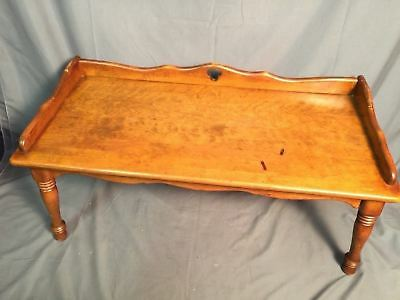 Ethan Allen Early American Solid Maple Birch Vintage Coffee Table Made In USA