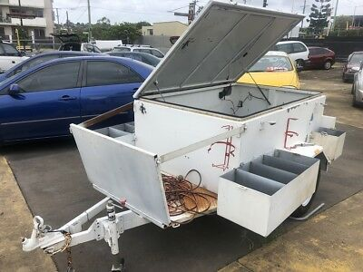 2013 Aspinal Trailer 7X5 Custom Built For Camping