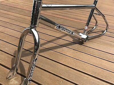 Hutch Bmx Bike Frame Old School Pro Racer