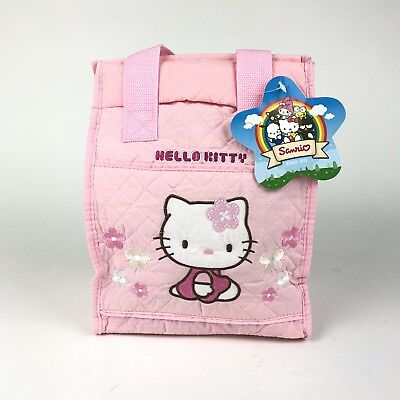 NWT Hello Kitty Pink Soft Lunch Bag