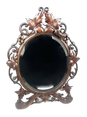 Sophia Magdalena Barat Socssci Antiques Antique Black Forest Brienz Swiss Mirror Holy H Mirrors