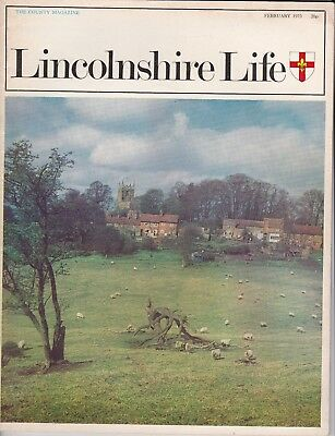 LINCOLNSHIRE LIFE February 1973  featuring Horncastle
