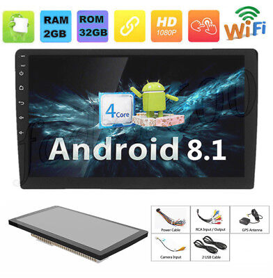 "Universal Android 8.1 10.1"" Touch Pad Quad-Core Auto Stereo Radio RAM 2G ROM3 2G"