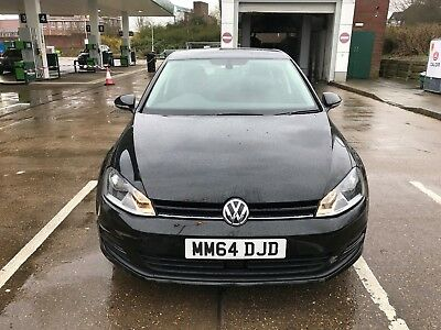 2014 VW Volkswagen golf MK7 1.6 TDI Bluemotion MATCH 5 Door