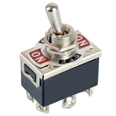 1/5pcs 6 Pin DPDT Toggle Switches on/off/on motor reverse Polarity DC Motor Tool