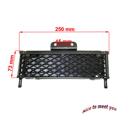 Radiator Mesh Oil Cooler Cooling High Flow For 125cc 140cc 149cc Pit Dirt Bike
