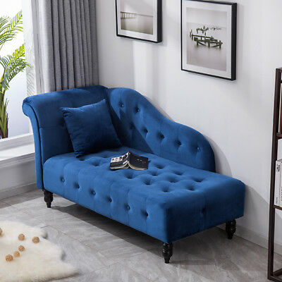 Luxury Chaise Longue Accent Tub Sofa Chair Bed Settee