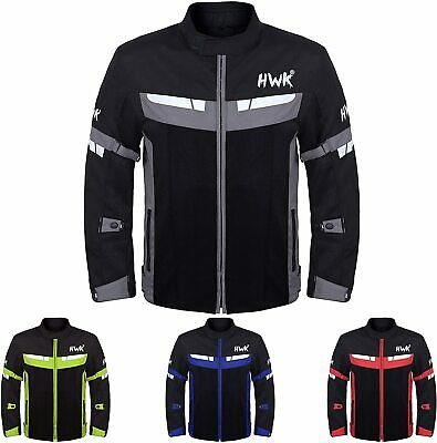 Mesh Motorcycle Jacket For Men Motorbike Biker Riding Breathable CE Armored