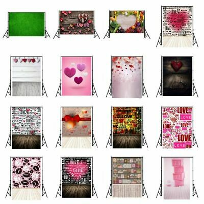 3*5/5*7FT Romantic Valentine's day Photography Backdrop Background Photo Props