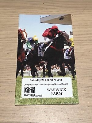 Winx 7th start Race Book - 2015 Surround Stakes - Chipping Norton Day Racebook