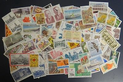 Stamps South Africa -  over 200 mixed USED stamps as per photo