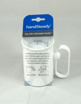 HandSteady Anti-Spill Cup With rotating handle Arthritis Disability Aid