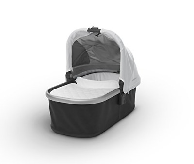 2018 UPPAbaby Bassinet - Loic White/Silver