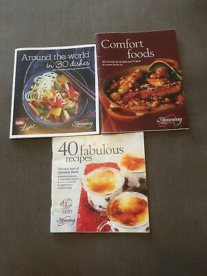 Slimming Workd Bundle Of 3 Booklets
