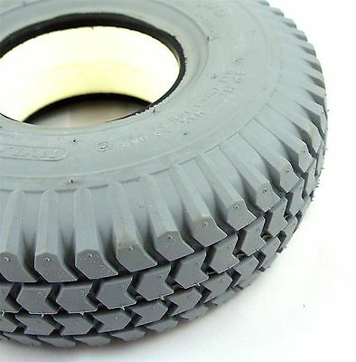 1 of 260x85 3.00-4 Solid Block Mobility Scooter Tyre