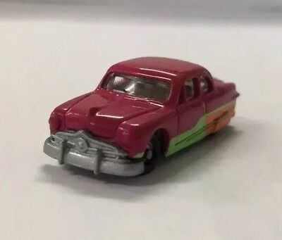 """N Scale Racing Champions 1/144 Hot Rod Magazine 50' Ford """"single Spinner"""" Custom"""