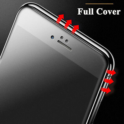 Full Coverage 5D Anti-Glare Matte Screen Protector for iPhone 8 Plus XS XR Film