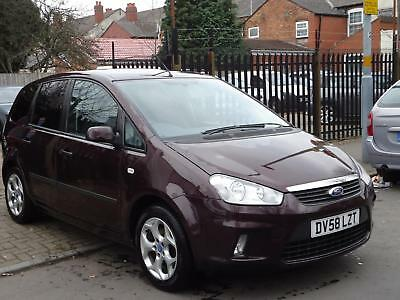 Ford C-MAX 1.8 16v 125 2008.25MY Zetec** RARE COLOUR ** FACELIFT MODEL ** PX