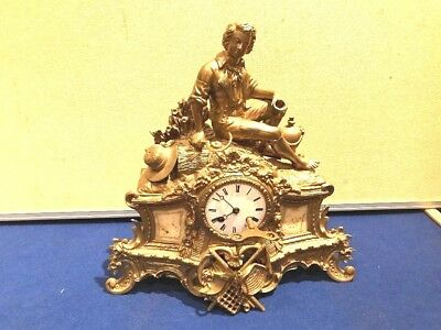 Victorian French mantle clock