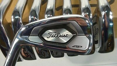 LEFTY TITLEIST GOLF Custom 718 AP3 Irons 3-PW Project X LZ 6 0 -2* Flat TW  Grips