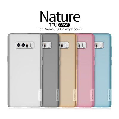 NILLKIN Nature TPU Soft Back Case For iPhone 7/7Plus Samsung S8/S8+/Note 8 A1