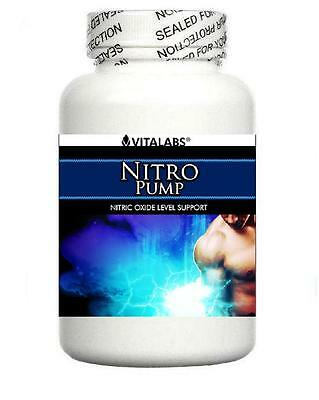 2x Extreme Muscle Growth Builder Pills Nitric Oxide NO 6 Pack Abs Body Building