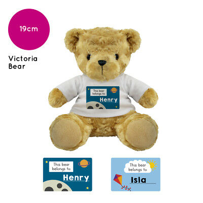 Personalised Name Victoria Teddy Bear Presents Gifts Gift Ideas Child Birthday