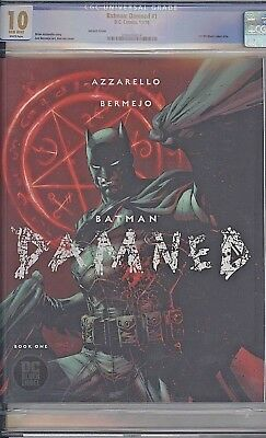 Batman Damned #1 Variant 2018 Dc Black Label Uncensored Comic Cgc 10.0!