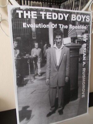 A4 SIZE MAGAZINE, THE TEDDY BOYS, EVOLUTION OF THE SPECIES, 48 PAGES 1950s