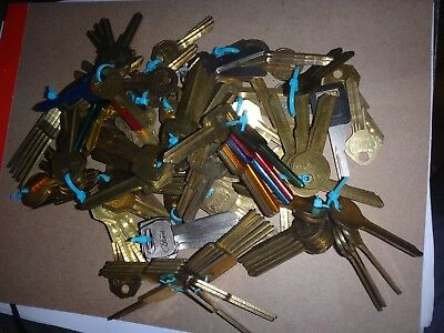 Lot Of 146 +/- Vintage American Auto Key Blanks - Nos