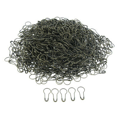 1000 Pcs Metal Calabash Shape Safety Pin Pear Gourd Coilless Tag Pin Bronze