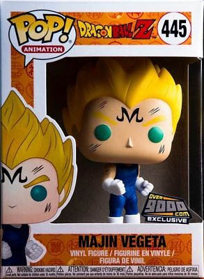 Funko Pop! Dragon Ball Z Majin Vegeta Over 9000.com NYCC Exclusive w/ Protector