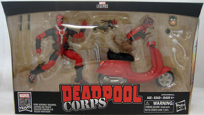 Marvel Legends Figure & Vehicle Set - Deadpool Corps with Scooter IN STOCK