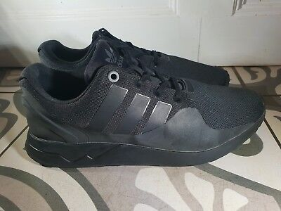 quality design 37d11 7120a ADIDAS ZX FLUX EVM 004001 08/16 Trainers All Black mens - UK Size 9
