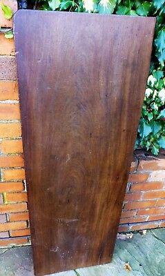Antique Mahogany timber From a old Regency  table.  South American Mahogany