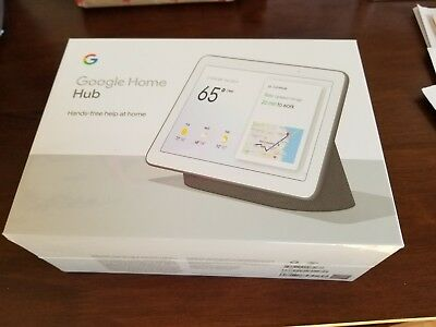 New Google GA00515-US Home Hub with Google Assistant - Charcoal