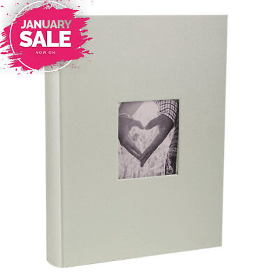 Facraft Wedding Photo Album 300 4x6 Horizontally With Memo 300 Ivory