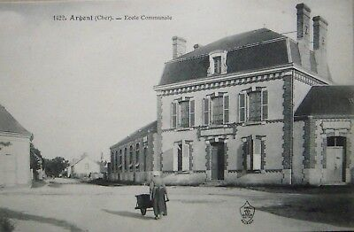 CPA  ARGENT (Cher) – Ecole Communale