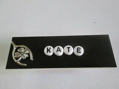 Id Name Tag Badge Magnet Or Pin Lucky Medical , Office Nurse Teacher Casino Er