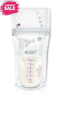 Philips AVENT – 25 Of Breast Milk Storage Bags with Pump Package of 25 bags...