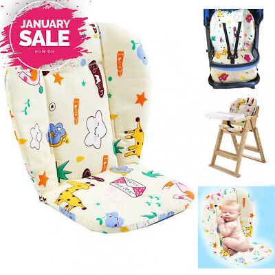 Baby Stroller/Car / High Chair Seat Cushion Liner Mat Pad Cover Protector...