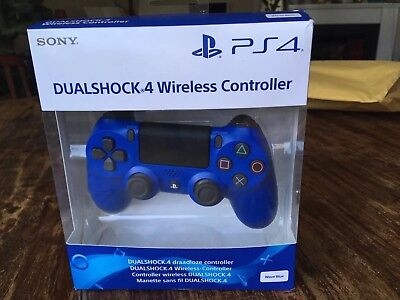 SONY Dualshock 4 Wireless Controller for PlayStation 4 - Blue £ RRP £45