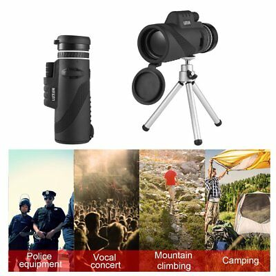 40x60 HD Day & Night Vision Optical Monocular Hunting Camping Hiking Telescope A